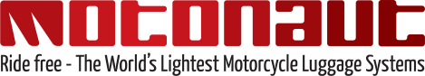 Motonaut logotype gradient - solid m + tag line
